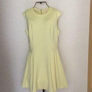 NWT, Yellow sleeveless dress, size 4